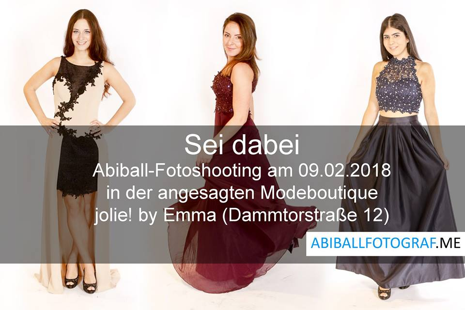Abiball Fotoshooting in Hamburg